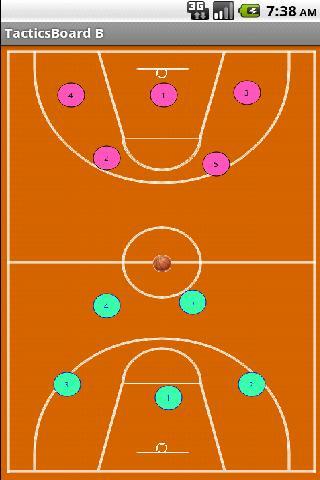 Basketball Tactics Board