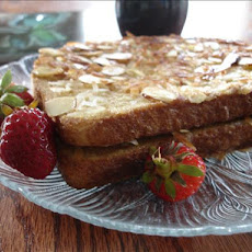 Coconut Almond French Toast