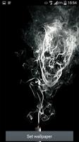 Screenshot of Smoking cigarette Skull