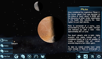 Screenshot of Solar System Explorer 3D