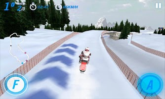 Screenshot of SnowCross