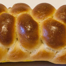 Easy No-Knead Challah Bread
