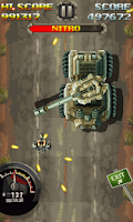 Screenshot of Super Psycho Cycle