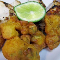 Spicy Pineapple Fritters