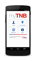 Screenshot of myTNB