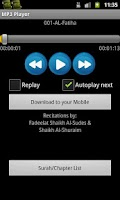 Screenshot of Quran MP3 With English