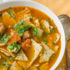 Fast & Easy Turkey Tortilla Soup