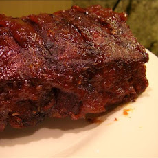 Carolina Barbecued Baby Back Ribs