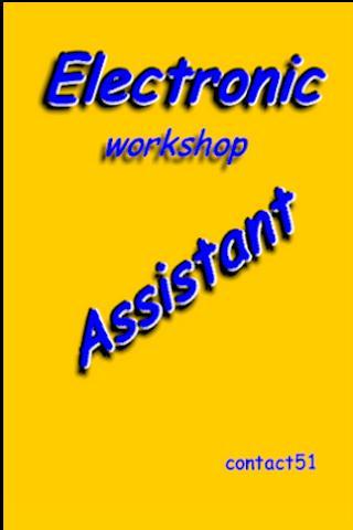 Electronic Workshop Assistant