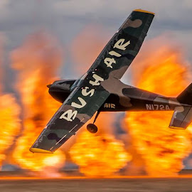 Another incredible display by CC Pocock in his Cessna T-41 by Johan Stephens - Sports & Fitness Other Sports