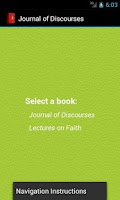 Screenshot of Journal of Discourses