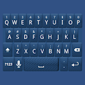 Blue Carbon Keyboard Skin icon