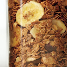 Coffee, Hazelnut, and Banana Granola