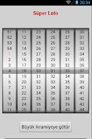 Screenshot of Super Loto - Süper Loto