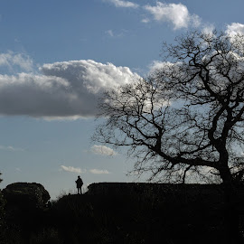 Silhouette by Adele Southall - Landscapes Cloud Formations (  )