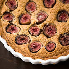 Fresh Fig and Hazelnut Tart