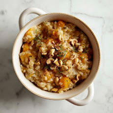 Multi-Cooker Butternut Squash, Sage and Hazelnut Risotto