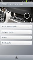 Screenshot of Mercedes-Benz Service Schweiz