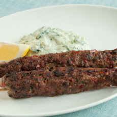 Spiced Lamb Koftas With Minted Yoghurt