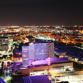 Dallas by Fred Regalado - Buildings & Architecture Office Buildings & Hotels ( purple, yellow, color )