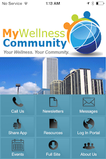 My Wellness Community - screenshot