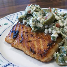 South Beach Diet Grilled Salmon With Artichoke Salsa