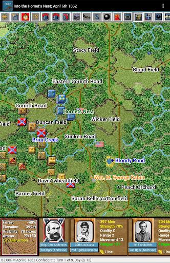 Civil War Battles - Shiloh - screenshot