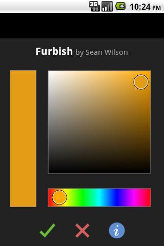 Furbish colored wallpapers