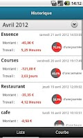 Screenshot of My Time My Money