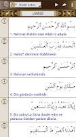 Screenshot of Al Quran (Turkish) Al Sudais