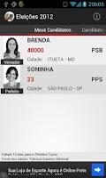 Screenshot of Eleições 2012
