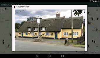 Screenshot of Suffolk Real Ale Pub Finder