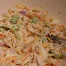 Very Veggie Sorta Chicken Salad
