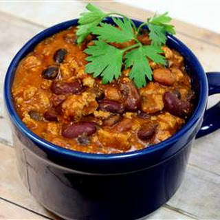 Laura's Quick Slow Cooker Turkey Chili