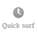 Quick surf icon
