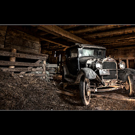 Keepin' it Old School by Thomas Crown - Transportation Automobiles