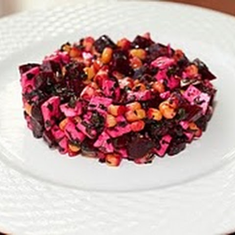 Sweet Corn And Beet Salad