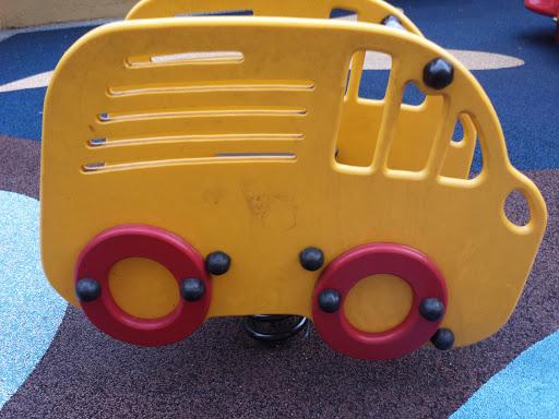 Yellow Bouncy Car