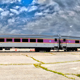 Abandoned Train by Sara Whitney - Transportation Trains ( hdr, train, transportation, hdr photography, panorama )