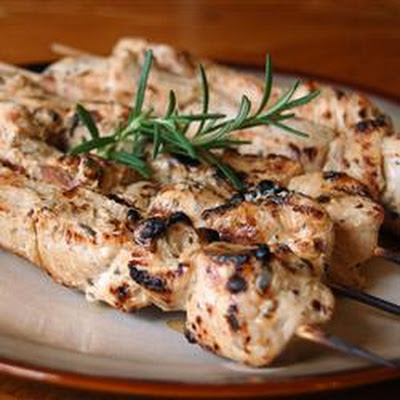 Rosemary Ranch Chicken Kabobs