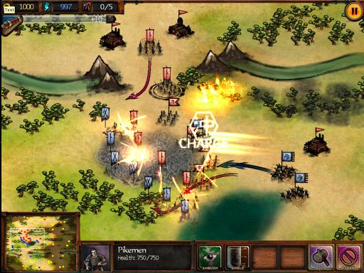 Autumn Dynasty - RTS - screenshot