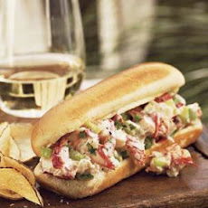 Lobster Rolls with Home-Fried Potato Chips