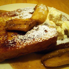 Banana Bourbon French Toast