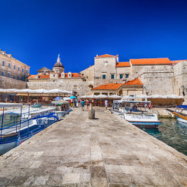 Dubrovnik old town by Wim Moons - City,  Street & Park  Historic Districts ( harbour, kroatie, cityscape )