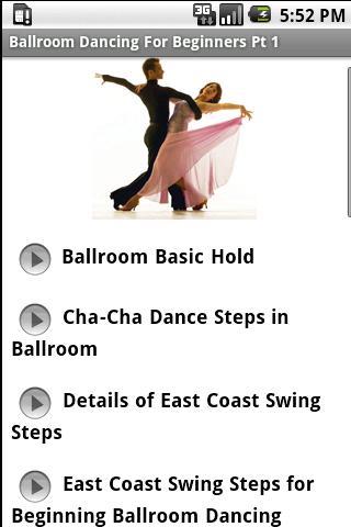 Ballroom Dancing Beginners Pt1