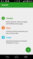 Screenshot of Greenify (Donation Package)