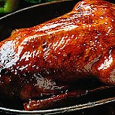 Grilled Goose with Prune Stuffing and Gravy