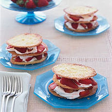 Strawberries and Cream Napoleons