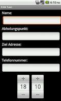 Screenshot of D3H Sindelfingen Taxi