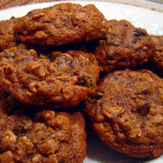 Oatmeal Molasses Drop Cookies